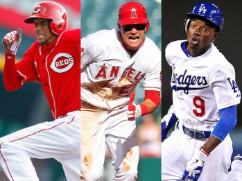 Billy Hamilton, Mike Trout, Dee Gordon